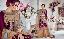 Salwar Kameez Designer Indian Pakistani Anarkali Suit Party wear Dress FM