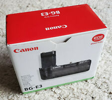 CANON BG-E3 BATTERY GRIP * FOR EOS REBEL XT & XTi CAMERAS * NEVER USED