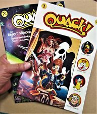 Quack! #1, 2, 3 Star Reach Productions 1976 Lots of images to see In great shape
