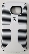 Speck CandyShell Grip Glossy Hard Cover Case for Samsung Galaxy S6 White / Black