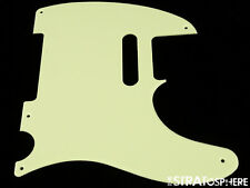 * NEW Mint Green Telecaster PICKGUARD for Fender USA Vintage Tele 1 Ply 5 Hole