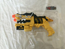 Power Rangers Dino Charge Yellow Morpher Blaster Gun with Charger New in Plastic