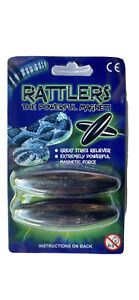 Rattle Snake Magnets - Pack Of 2