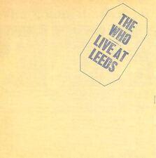 THE WHO live at leeds (CD album) hard rock, mod, classic rock
