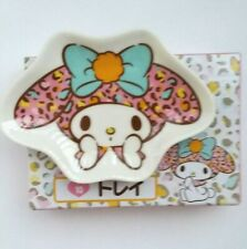 US SELLER My Melody Sanrio Leopard Print Trinket Tray Dish Kawaii NEW