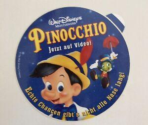 Walt Disneys Pinocchio-Original Aufkleber/Sticker-90er
