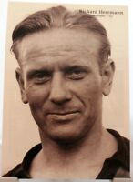 Richard Herrmann + Fußball Nationalspieler DFB + Fan Big Card Edition B113 +