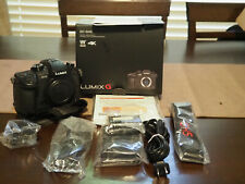 LUMIX GH5 Digital SLR Camera - (Body Only)  Shutter count = 41