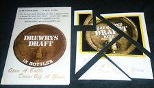 Rare 1960's Drewrys Draft Beer Puzzle with Original Paper Envelope