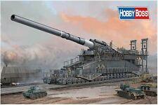 """RAILWAY GUN """"DORA"""" GERMAN 80cm K(E)  HOBBY BOSS 1/72 PLASTIC KIT"""
