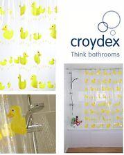 Croydex Pvc Tenda Da Doccia Bagno Bobbing Along Anatre Design Impermeabile 180cm