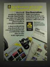1983 Best Western Ad - 2,800 Reasons to Travel