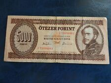 More details for hungary banknote 5000 hungarian forint 1993