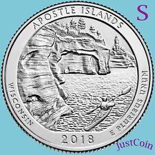 2018-S APOSTLE ISLANDS NATIONAL LAKESHORE (WISCONSIN) UNCIRCULATED QUARTER