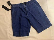 KITON 100% LINEN SHORTS, BRAND NEW IN BEAUTIFUL BRIGHT BLUE! SUMMER IS HERE,