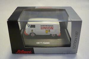 SCHUCO - Model - VW T1 Box - Transporter - 1:87 H0 - Boxed (1.SCHUCO-19)