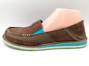 Ariat Cruiser Brown Cowgirl Western Slip On Shoe Women Size 9 B 10017457