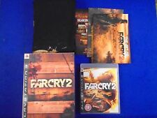 ps3 FAR CRY 2 Collectors Edition + T-SHIRT PlayStation PAL UK REGION FREE
