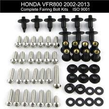 For Honda 2003 2004 2005 VFR 800 2002-2013 Stainless Complete Fairing Bolts Kit