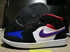 Nike Air Jordan 1 Mid Lakers Top 3, 852542 005, UK9/ EU 44/ US10