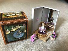 Wee Forest Folk Special Color Rabbit Dancer a la Degas w/display VHTF