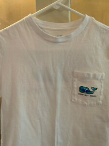 Vineyard Vines Boys' Short-Sleeve Whale T-shirt, Size L (16)