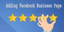 FIVE, 5 Star Facebook Reviews - 100% Genuine SEO boost