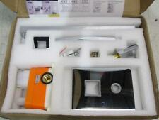 """Boyel Living Polished Chrome 10"""" Shower Head & Handheld Shower Head Rb0710-B"""