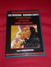 MILANO TREMA: LA POLIZIA VUOLE GIUSTIZIA DVD (SERGIO MARTINO/LUC MERENDA)