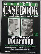 Murder Casebook Issue 58 - William Desmond Taylor, Thelma Todd