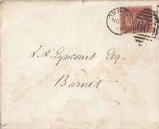 Línea de GB grabado: 1874 placa de identificación 157-O-G-utilizado en cubierta-Oxford 603