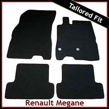 Renault Megane Mk3 Estate 2008-2016 Tailored Fitted Carpet Car Floor Mats BLACK