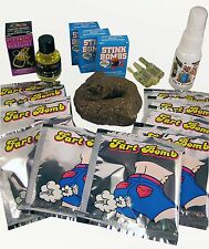 SMELLY PRANK KIT v2.0 - Liquid Ass Stink Bomb Fart Perfume Fake Poop Joke Gag