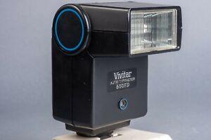Vivitar 550FD  Shoe Mount TTL Flash for Nikon (including EM)