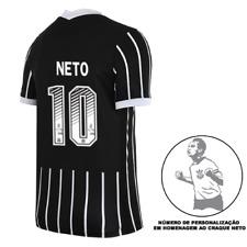 Corinthians Neto#10 Away Soccer Football Maglia Jersey Shirt - 2020 2021
