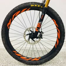 Mountain bike bicycle wheel rim decals for Ibis 741 941 replacement any color