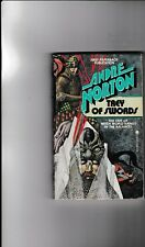 ANDRE NORTON---TREY OF SWORDS---art Charles Mikolaycak---1978---first paperback