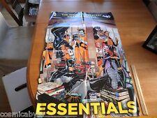 Batman Joker Essential Graphic Novels villains in jail dealers poster 22x34 fold