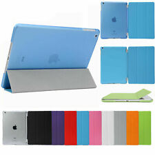 Smart Cover Hard Back Case for Apple iPad 8th 7th 6th Gen iPad 6 5  mini Air Pro