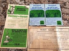 1969 Disneyland New Years Eve Gala Tickets