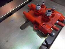 Case Ingersoll dual spool travel control valve