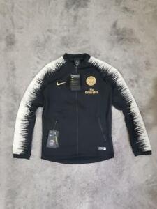 Youth's Nike PSG Paris Saint Germain Anthem Jacket 894414-013 Black/Gold sz LB