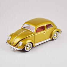 """Bburago - Burago - 1:18 - VW Volkswagen Beetle """"Käfer"""" 1955 - Gold - 1.000.000th"""