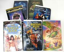 Walt Disney & WB - VHS Lot of (7) - Little Nemo - Casper - The Jungle book