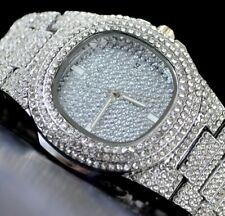 Luxus Unisex Uhr Srassteine iced out uhr  HIP HOP BLING Bling Damen und Herren