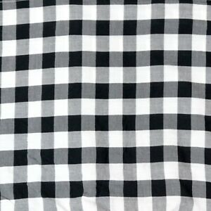 VHC Brands Annie Buffalo Black Check Queen Bed Skirt Country Primitive Cottage
