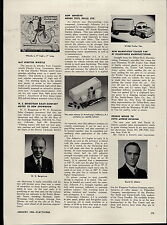 1950 PAPER AD Sun Rubber Toy Article Wannatoy Trailer Van Truck