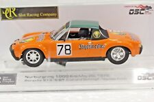 SRC 01610 PORSCHE 914/6 GT 1000km NURBURGRING NEW 1/32 SLOT CAR IN DISPLAY CASE