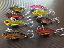8x Vibes Blades Fishing Switchblade Blade Vibe VIB Metal Lures 42mm Bream Bass