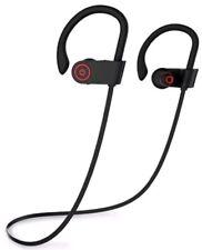 U8 Wireless Bluetooth Headset IPX7 Waterproof Headphones Earphone Black Color